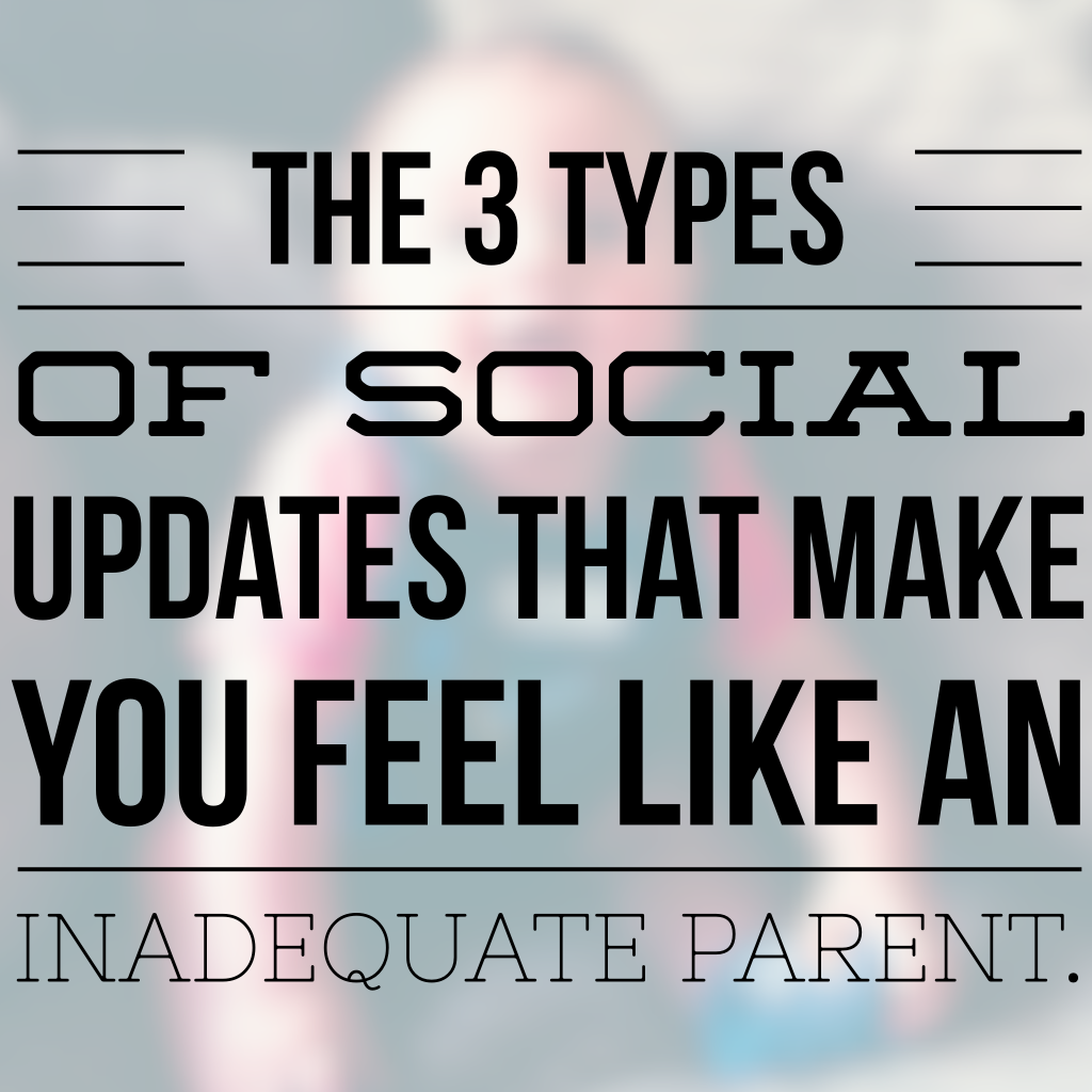 3 types of social update