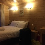 darwin forest country park classic lodge double bedroom