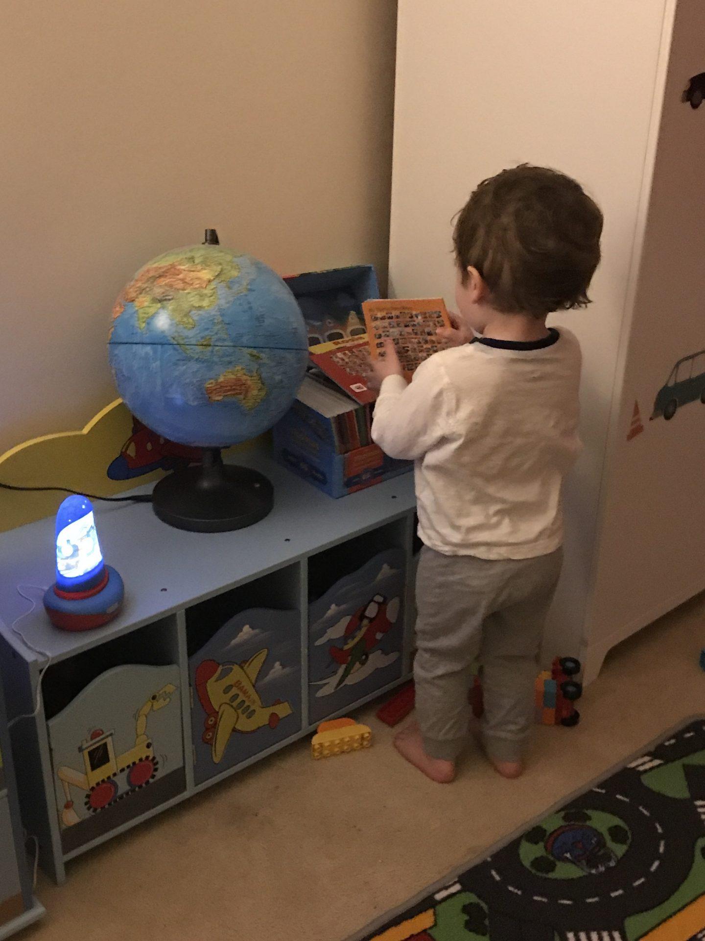 choosing a bedtime story