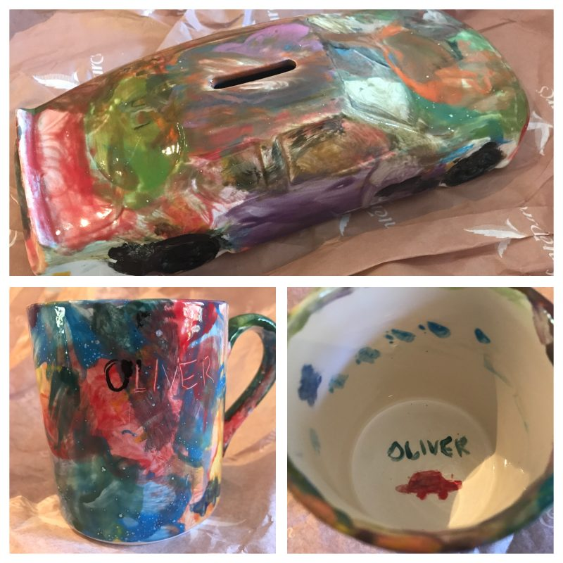 fun pots with tots creations