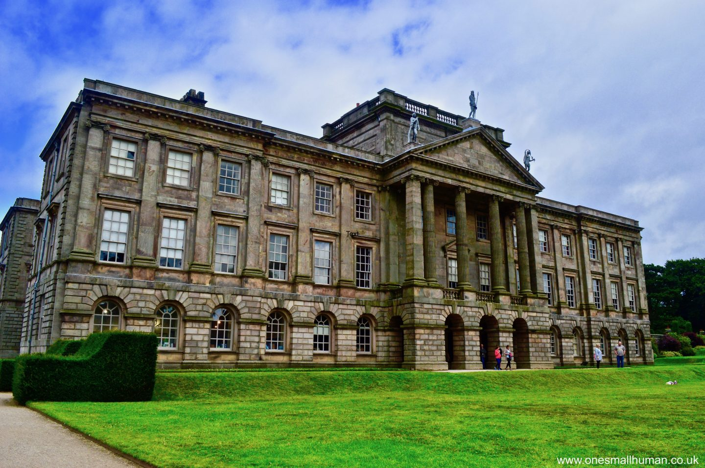 Lyme Park, Disley – A National Trust day out with a toddler and a baby