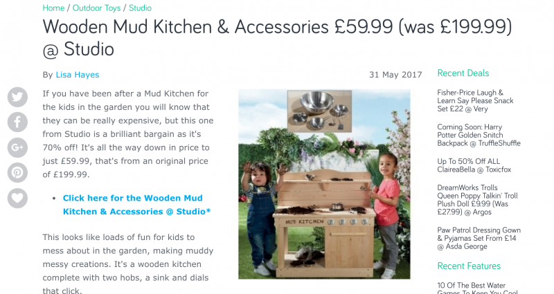 mud kitchens for sale