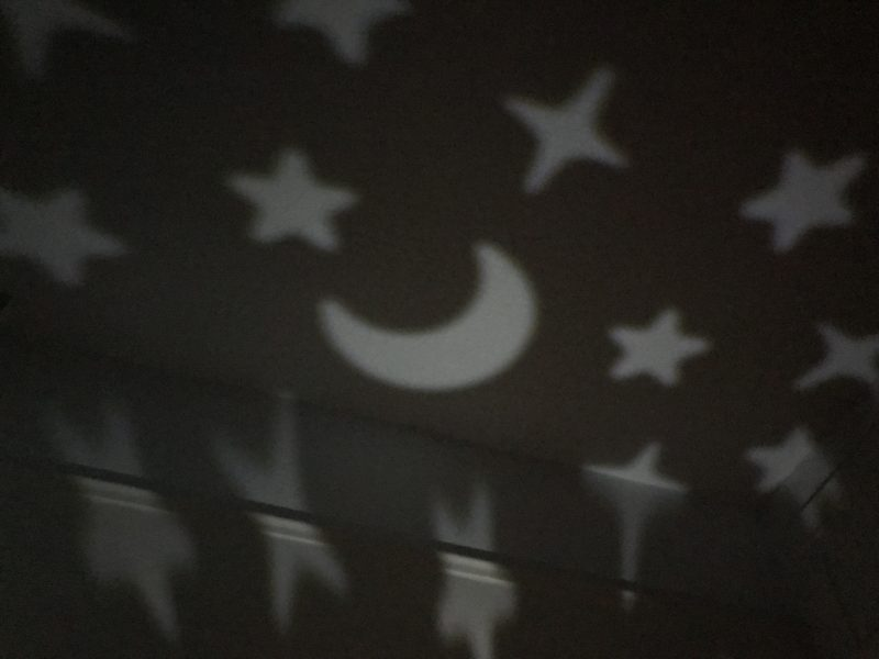 stars and moon nightlight