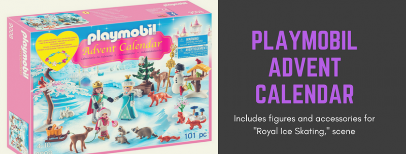 playmobil royal ice skating advent calendar 2017