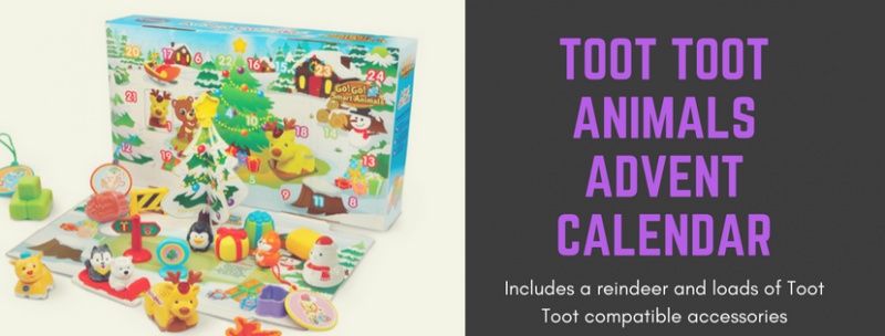 v tech toot toot animals advent calendar