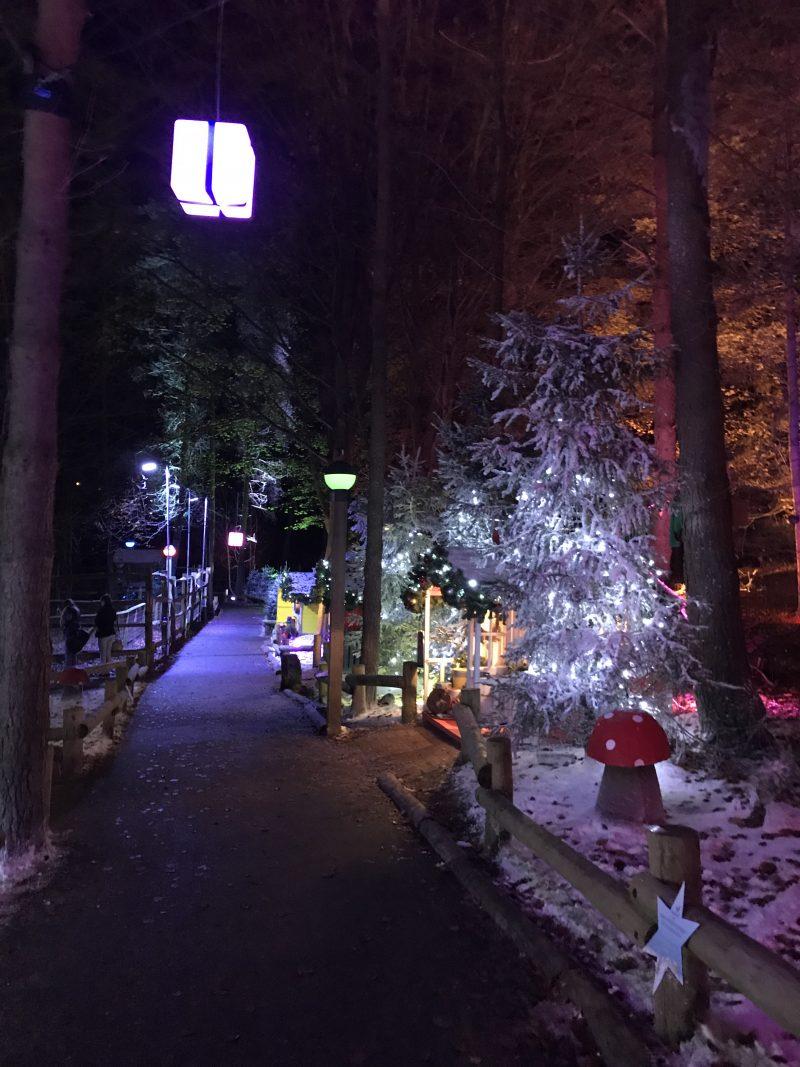 Santa's Woodland Village by Night - Whinfell Forest Winter Wonderland